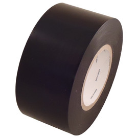 Black 9 mil Low Density Polyethylene Film Tape 3 inch x 60 yard Roll