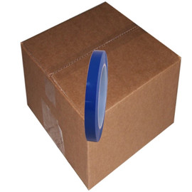 Blue Low Density Polyethylene Film Tape 1/2 inch x 36 yard Roll (96 Roll/Pack)