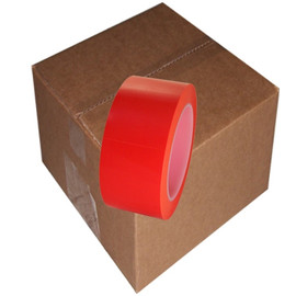 Orange Low Density Polyethylene Film Tape 2 inch x 36 yard Roll (24 Roll/Pack)