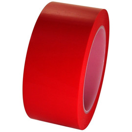Red Low Density Polyethylene Film Tape 2 inch x 36 yard Roll