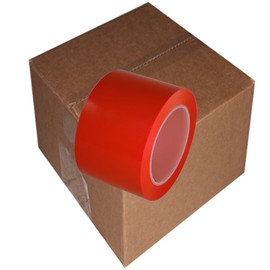 Red Low Density Polyethylene Film Tape 3 inch x 36 yard Roll (16 Roll/Pack)