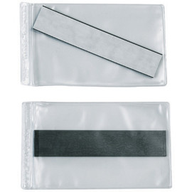 Super-Scan Magnetic Vinyl Envelopes 3 inch x 5 inch (50 Per/Pack)