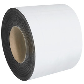 Magnetic White 4 inch x 100 ft Roll