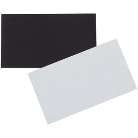 """Magnetic Tape Adhesive Back Strips 2 inch x 3 1/2 inch (0.03"""") Thick (100 Per/Pack)"""