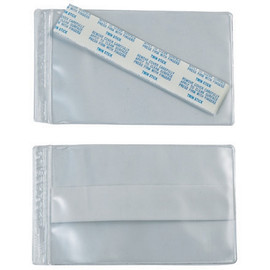Super-Scan Press-On Vinyl Envelopes 4 inch x 8 inch (50 Per/Pack)