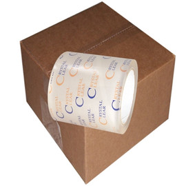 Prescription Label Protection Tape 4 inch x 72 yard Roll (18 Roll/Pack)