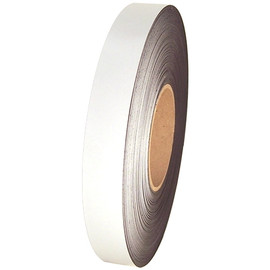 Magnetic Tape 1/32 inch Thick with Writeable White Surface