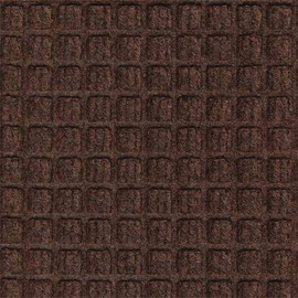 Waterhog Carpet Mat Brown 4 ft x 4 ft x 1/4 inch