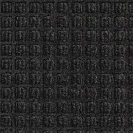 Waterhog Carpet Mat Charcoal 4 ft x 5 ft x 1/4 inch