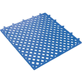 Lok-Tyle Drainage Mat Blue 12 inch x 12 inch x 9/16 inch Tile