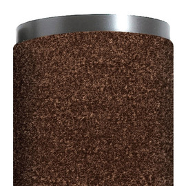 Economy Vinyl Carpet Mat Brown 3 ft x 12 ft x 5/16 inch