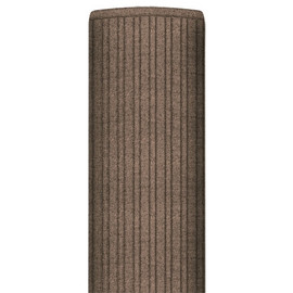 Deluxe Entry Mat Brown 4 ft x 6 ft x 3/8 inch