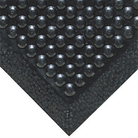 Bubble Mat Black 30 inch x 120 inch x 1/2 inch