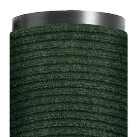 Deluxe Vinyl Carpet Mat Forest Green 4 ft x 6 ft x 3/8 inch
