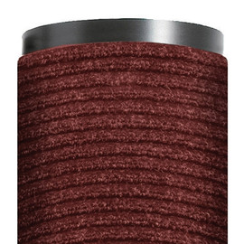 Deluxe Vinyl Carpet Mat Red 4 ft x 6 ft x 3/8 inch
