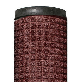 Deluxe Rubber Backed Carpet Mat Red/Black 3 ft x 10 ft x 1/4 inch