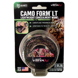 Camo Form Lightweight Vista Pink LT Fabric Wrap 2 inch x 96 inch Roll (Stretches to 192 inch)