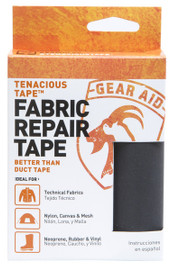 Tenacious Tape Ultra Strong Tent Repair Tape Black 3 inch x 20 inch