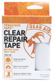 Tenacious Tape Ultra Strong Tent Repair Tape Clear 3 inch x 20 inch