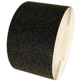 Non Skid Black Safety Tape 4 inch x 20 yard Roll  (3 Roll/Pack)