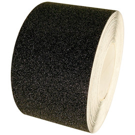 Non Skid Black Safety Tape 4 inch x 20 yard Roll