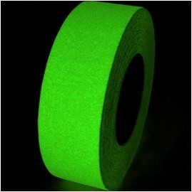 Non Skid Glow in The Dark Safety Tape 2 inch x 20 yard Roll