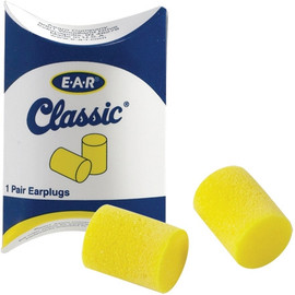 E-A-R Classic Earplugs in Pillow Pack (200 Per/Pack)