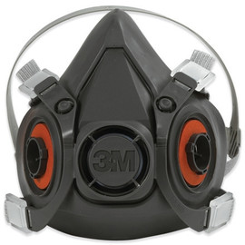 3M 6200 Half Face Respirator - Medium (24 Per/Pack)