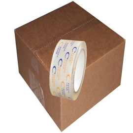 Crystal Clear Carton Sealing Tape 2.7 mil (2 inch x 110 yard Roll (36 Roll/Pack)
