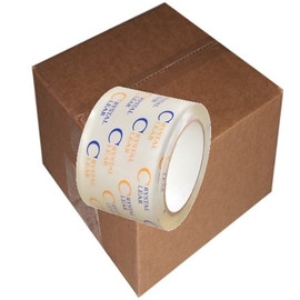 Crystal Clear Carton Sealing Tape 2.7 mil (3 inch x 55 yard Roll (24 Roll/Pack)