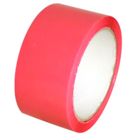 Pink Carton Sealing Tape 2 inch x 110 yard Roll 2.0 mil