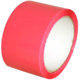 "Pink Carton Sealing Tape 3"" x 110 yards (24 Roll Case)"