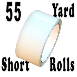 White Carton Sealing Tape 2 inch x 55 yard Roll 2.0 mil
