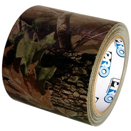 Realtree Green Camo Duct Tape 4 inch x 20 yard Roll (12 Roll/Pack)