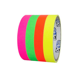 Pro Console Fluorescent Stack 1 inch x 5 yard Rolls (4 Color Pack)