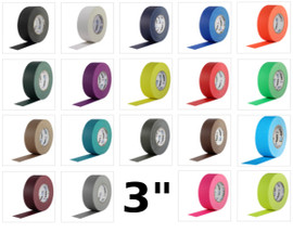 Pro Gaff Colored Gaffers Tape 3 inch X 55 yard (16 Roll Pack)