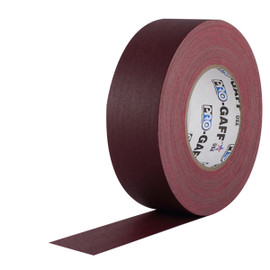 Pro Gaff Burgundy Gaffers Tape 2 inch x 55 yard Roll