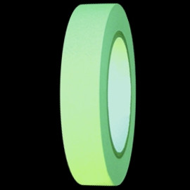 Construction Grade Glow Tape 1 inch x 10 yard Roll