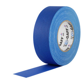 Pro Gaff Electric Blue Gaffers Tape 2 inch x 55 yard Roll