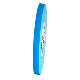 Pro Gaff Fluorescent Blue Gaffers Spike Tape 1/2 inch x 45 yard Roll