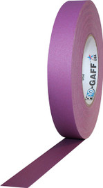 Pro Gaff Purple Gaffers Tape 1 inch x 55 yard Roll