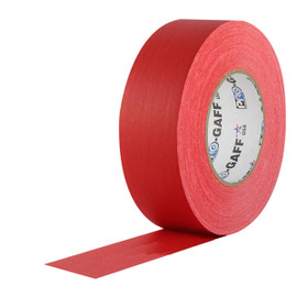 Pro Gaff Red Gaffers Tape 2 inch x 55 yard Roll