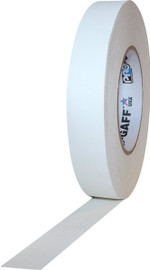Pro Gaff White Gaffers Tape 1 inch x 55 yard Roll