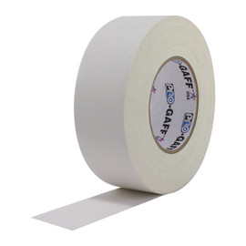 Pro Gaff White Gaffers Tape 2 inch x 55 yard Roll