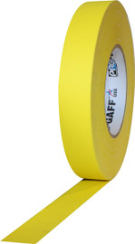 Pro Gaff Yellow Gaffers Tape 1 inch x 55 yard Roll