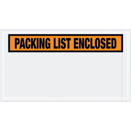 Panel Face Orange  inchPacking List Enclosed inch Envelopes 5 1/2 inch x 10 inch (1000 Pack)