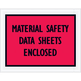 inchMaterial Safety Data Sheets Enclosed inch Envelopes 7 inch x 5 1/2 inch (1000 Pack)