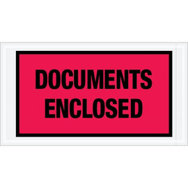 Special Use Red  inchDocuments Enclosed inch Envelopes 5 1/2 inch x 10 inch (1000 Pack)