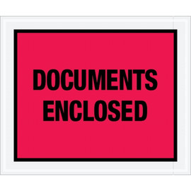 Special Use Red  inchDocuments Enclosed inch Envelopes 10 inch x 12 inch (1000 Pack)