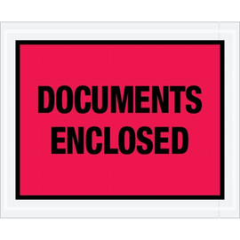 Special Use Red  inchDocuments Enclosed inch Envelopes 4 1/2 inch x 5 1/2 inch (1000 Pack)